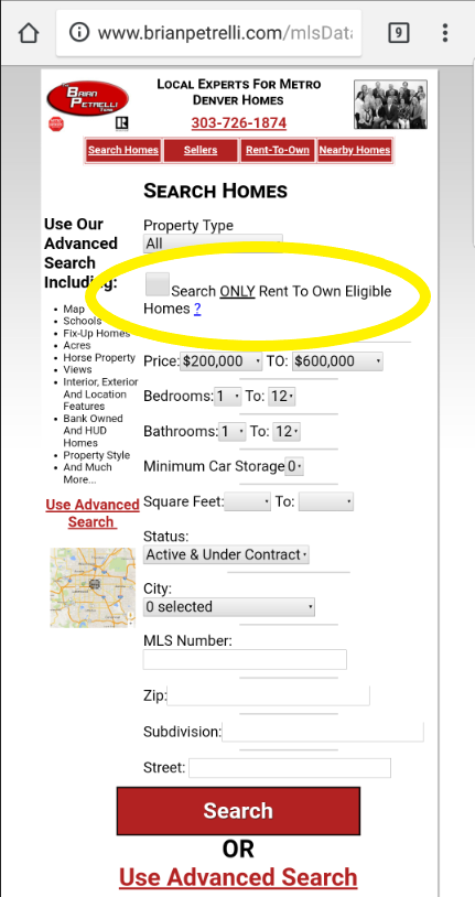 Now Search Rent To Own Homes In Denver And See Monthly
