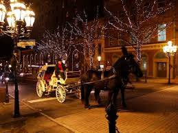 Christmas Horse Drawn Carriage Rides in Bethlehem, PA