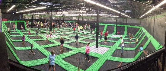 New Trampoline Park Opening in Springfield