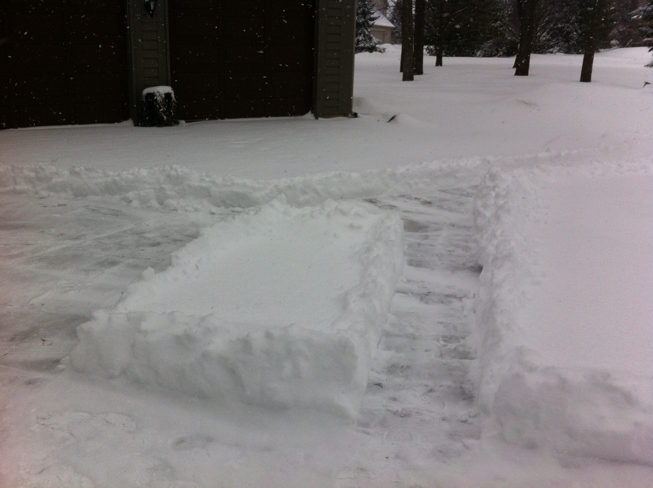West Lafayette Capilano By The Lake shovel snow 3 car garage driveway