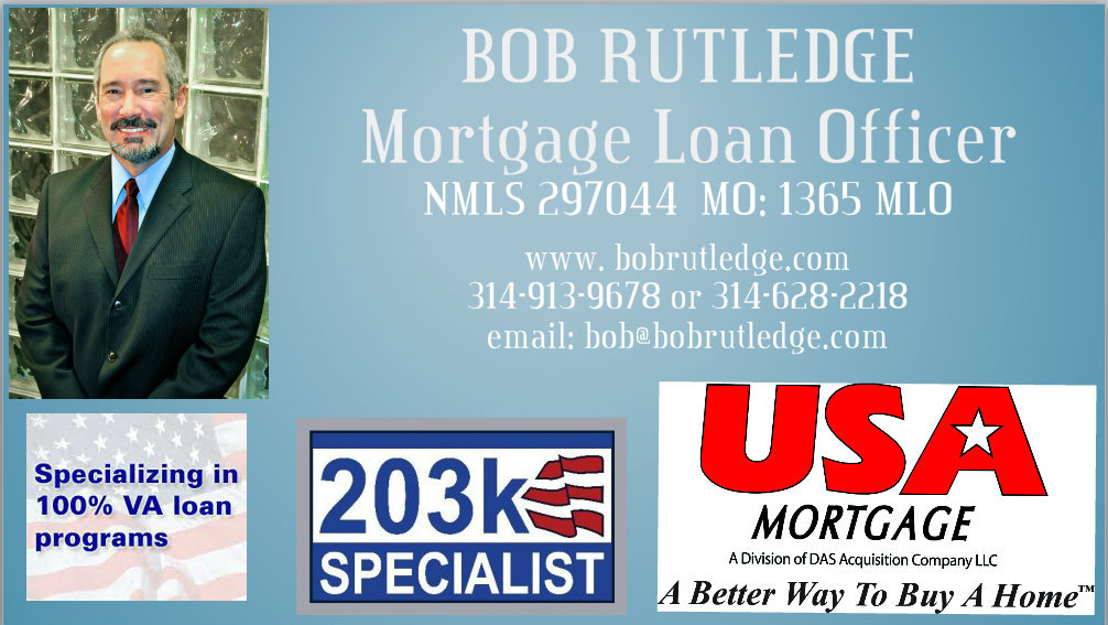 Bob Rutledge USA Mortgage