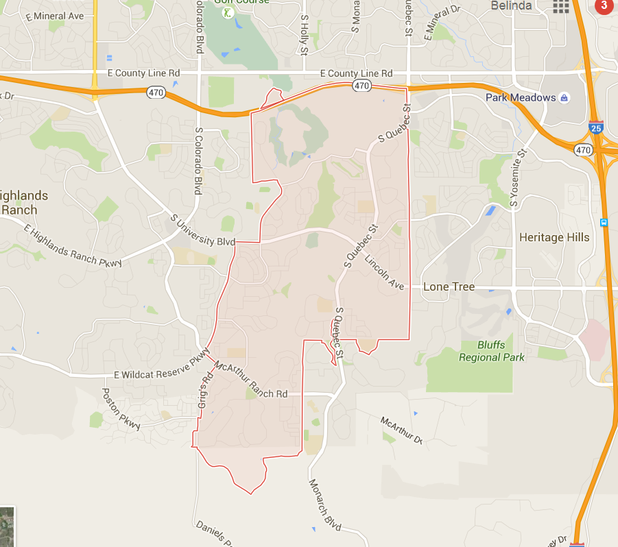 Highlands Ranch Co Zip Code