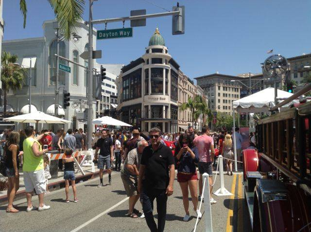 Rodeo Drive Concours Beverly Hills California