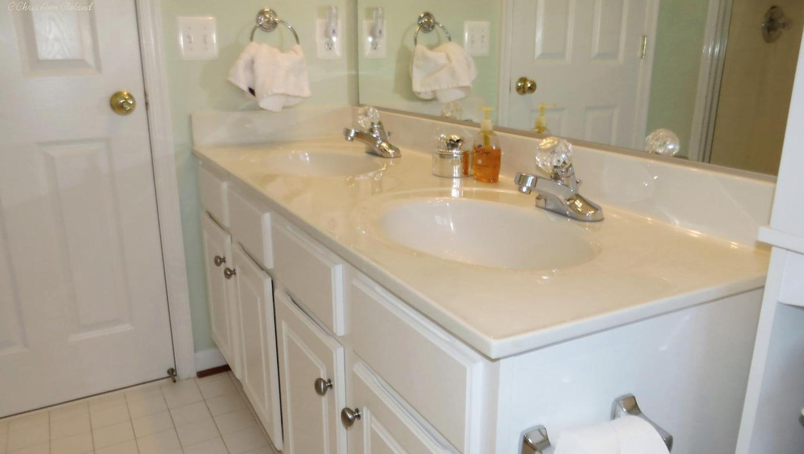 Vanities in Master Bathroom