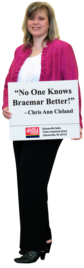 Chris Ann Cleland, Braemar Real Estate Agent, 703-402-0037