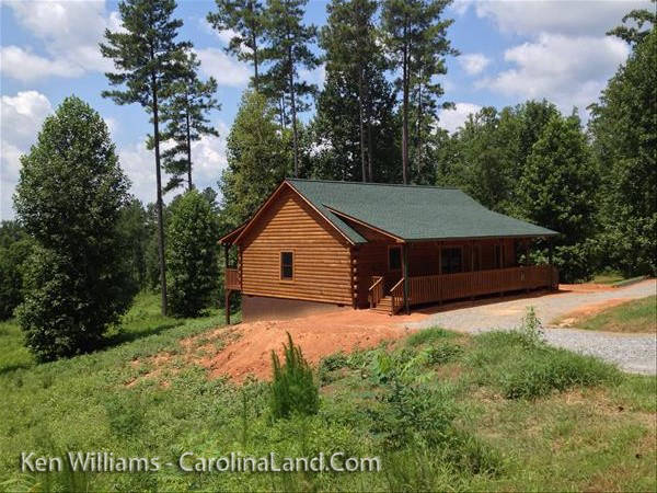New Custom Built Log Cabin On 1.59 Acres For Only $74,900. Located Just  East Of Asheville And Close To Lake Lure And Lake James In Hearthstone  Ridge ...