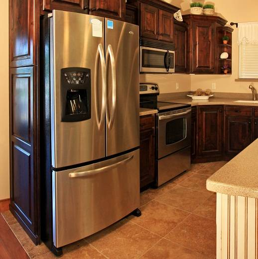 Kitchen Cabinet Fridge: Getting Your Home Ready To Sale, Home Stagging