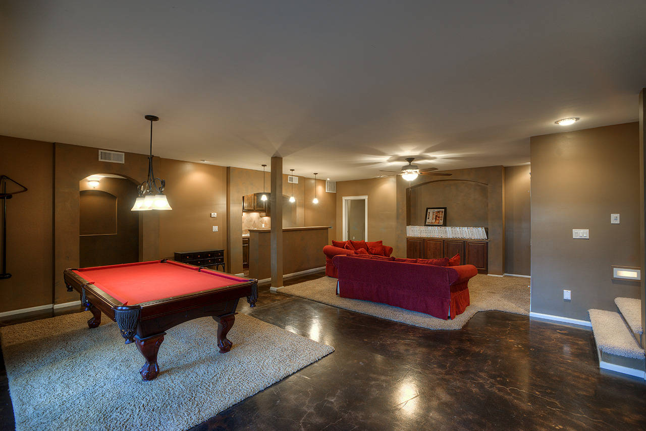 Luxury Basement Home For Sale In Gilbert Az 85297