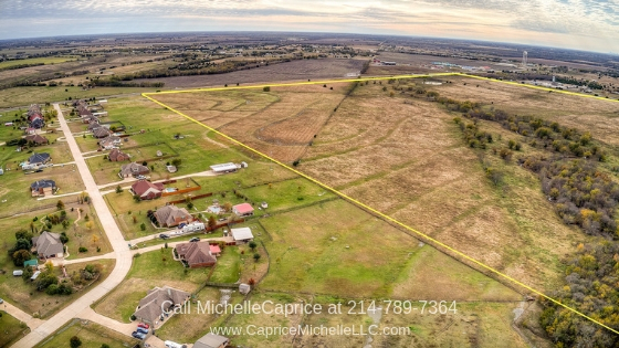 Rockwall TX Real Estate Properties for Sale - This Rockwall TX land for sale is the perfect opportunity to create a single family home subdivision.