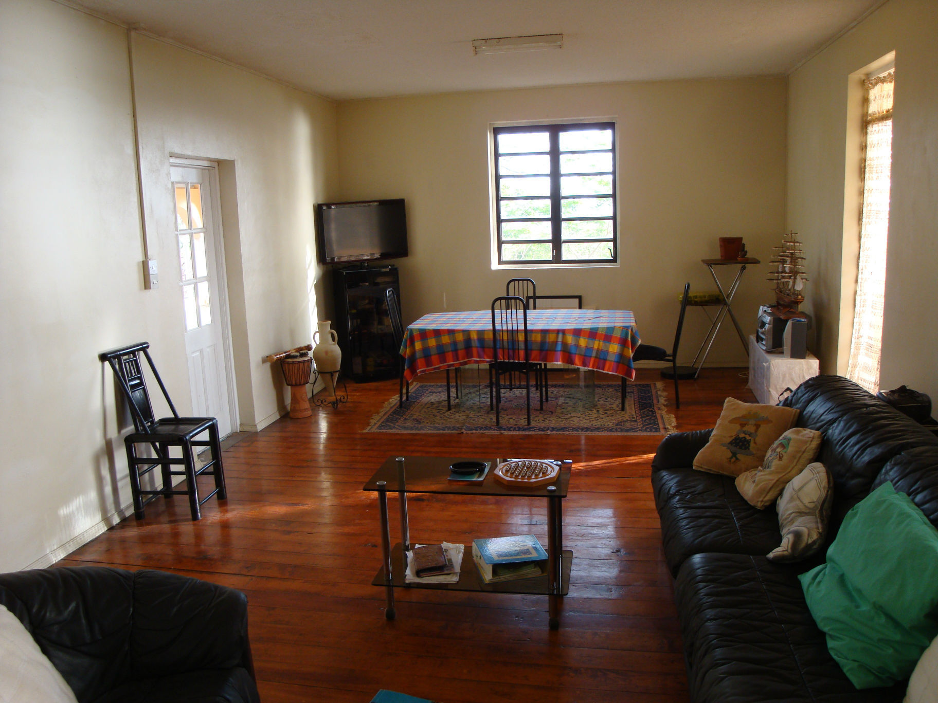 The two storeys of this 6 bedroom home for sale each have individual  living dining room spaces and multiple kitchenettes  The verandah design on  the grounds. 6 Bedroom Home For Sale In Castle Comfort  Dominica At