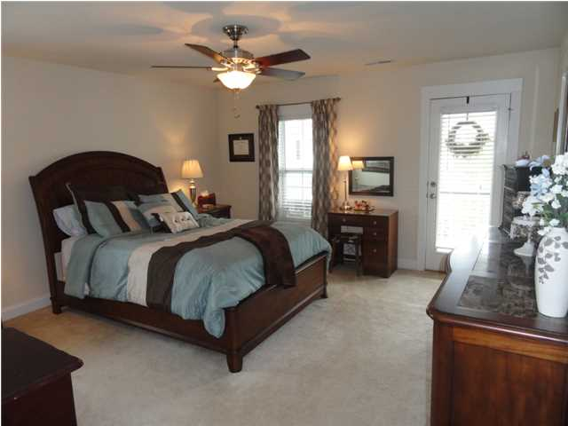Master bedroom suite at 3021 Shiloh Lane