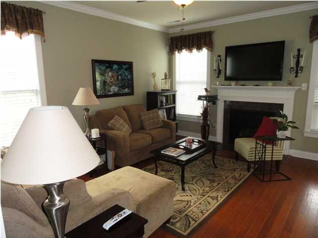 Living room at 3021 Shiloh Lane in West Ashley