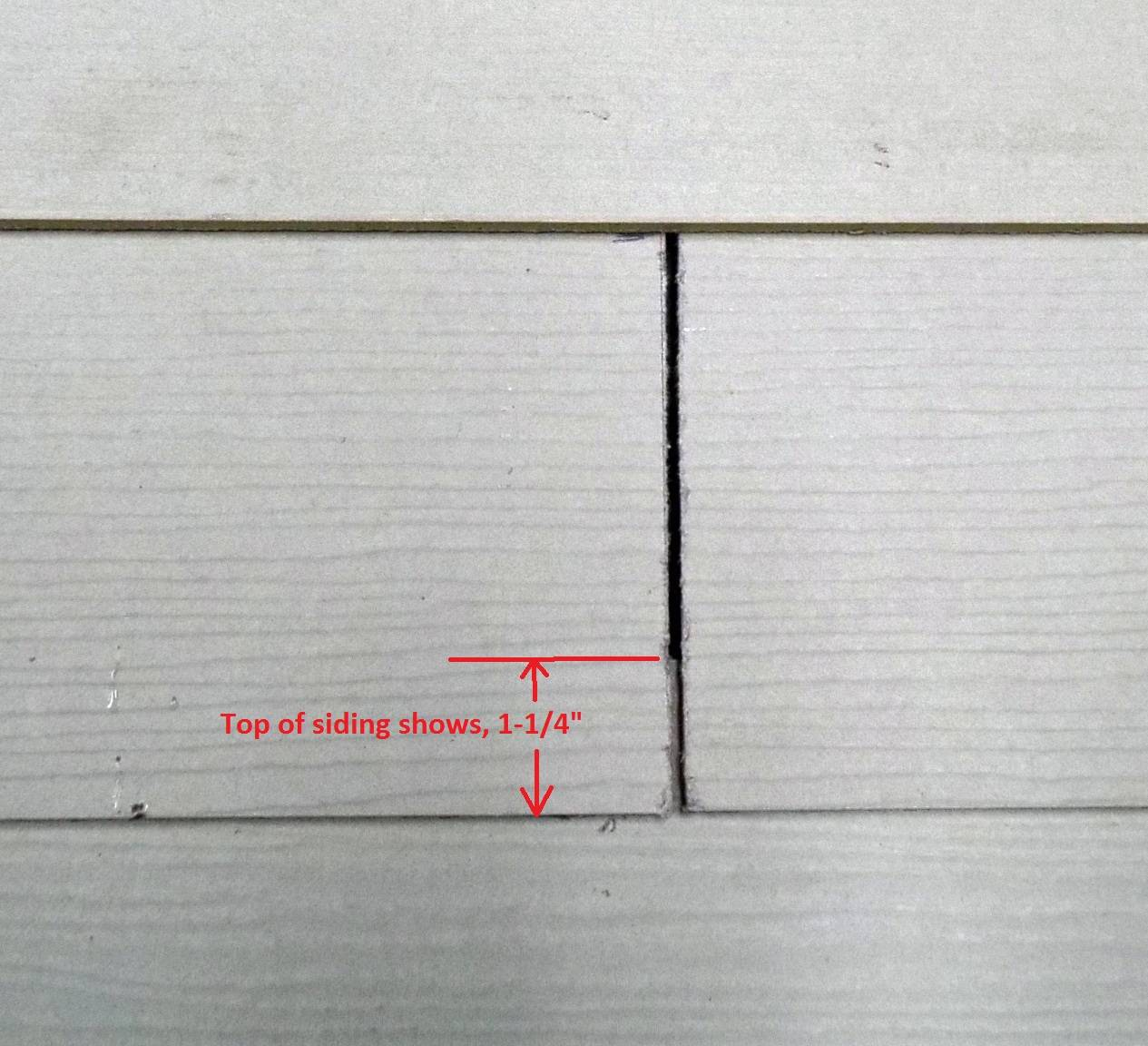 Type Of Nails For Cement Board Siding : How to flash siding butt joints