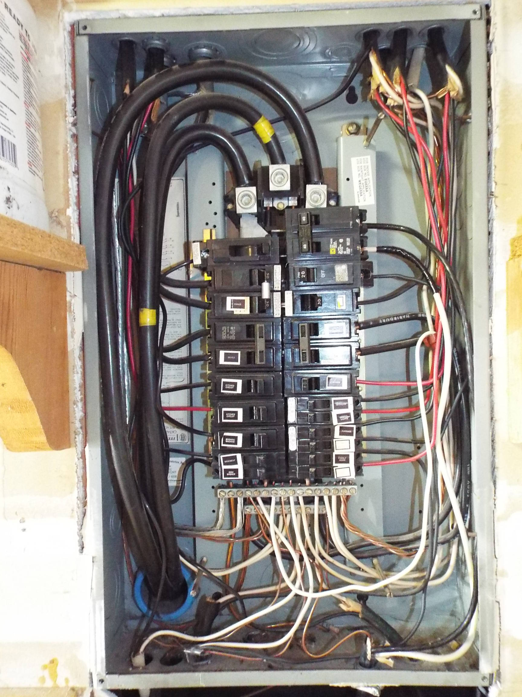 Service Panel Wiring - Wiring Diagram Services •