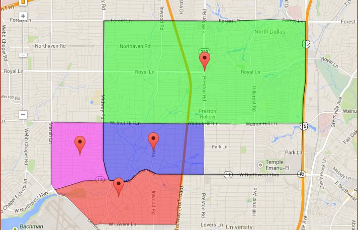 Park Cities Dallas Map.Homes In Preston Hollow In Dallas Texas