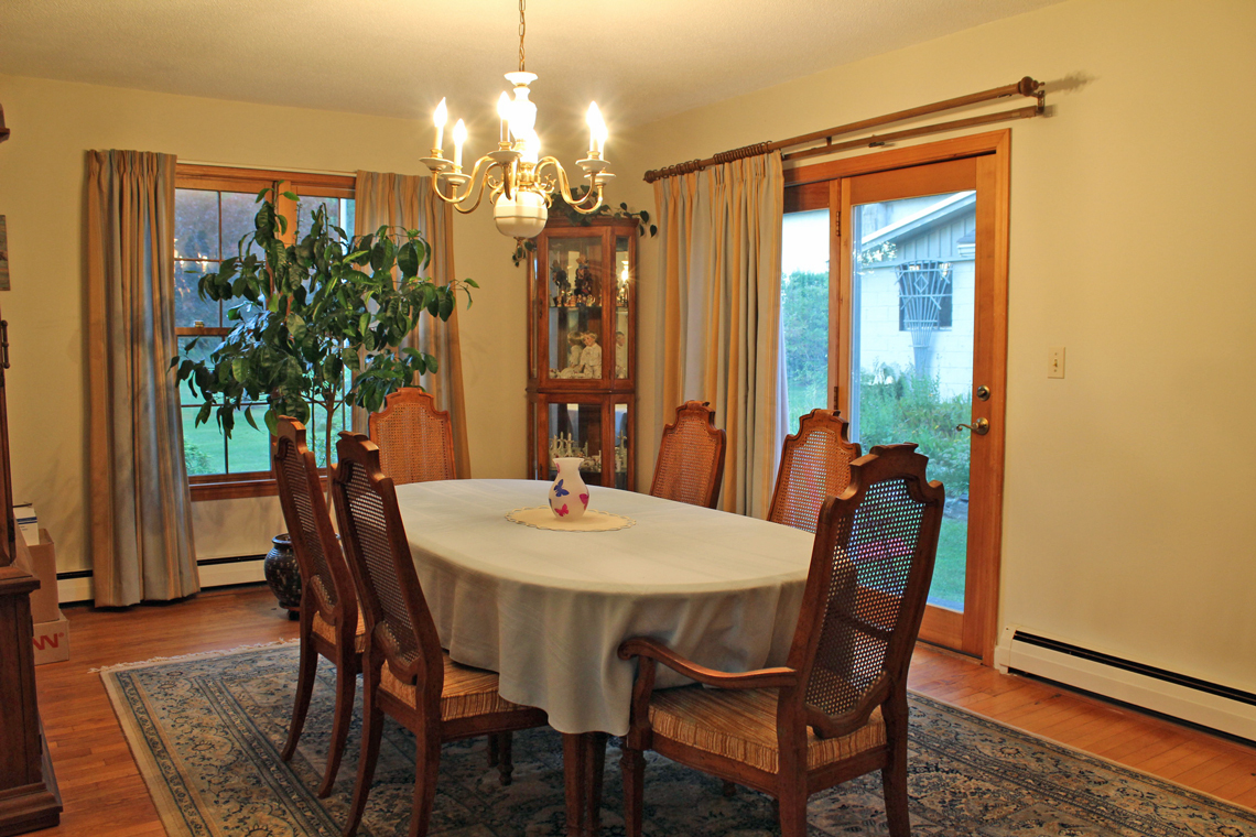 Dining room 70 Buckland Rd. Ashfield MA