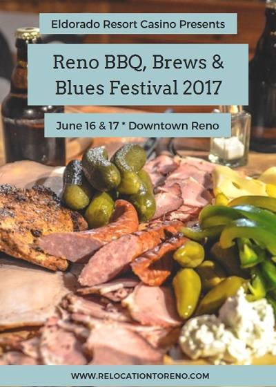 Enjoy delicious BBQ, a tasting of local craft beers and fantastic music as part of Father's Day weekend at the Reno BBQ, Brews and Blues Festival 2017.