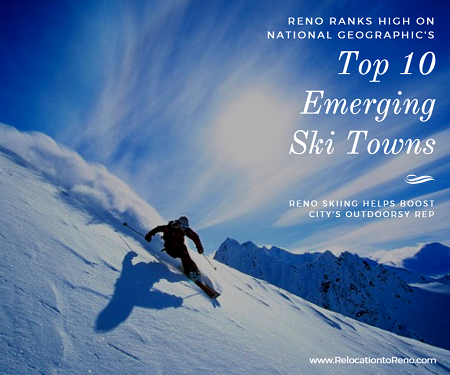 Mount Rose is just one of the local Reno skiing haunts that National Geographic named on its Top 10 Emerging Ski Towns list. Nearby Tahoe resorts helped.