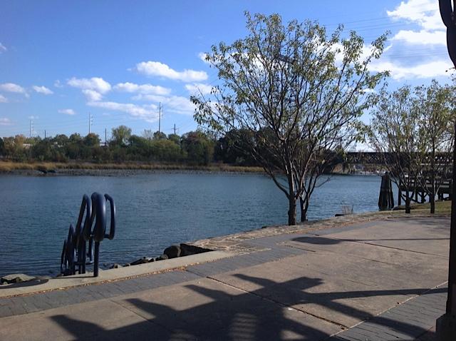 Norwalk River in SoNo, CT