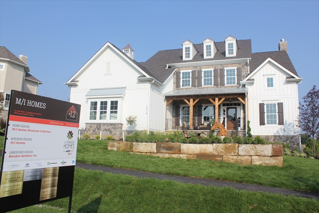 Photos of the 2014 bia parade of homes at trail 39 s end in for Home builders in ohio on your lot