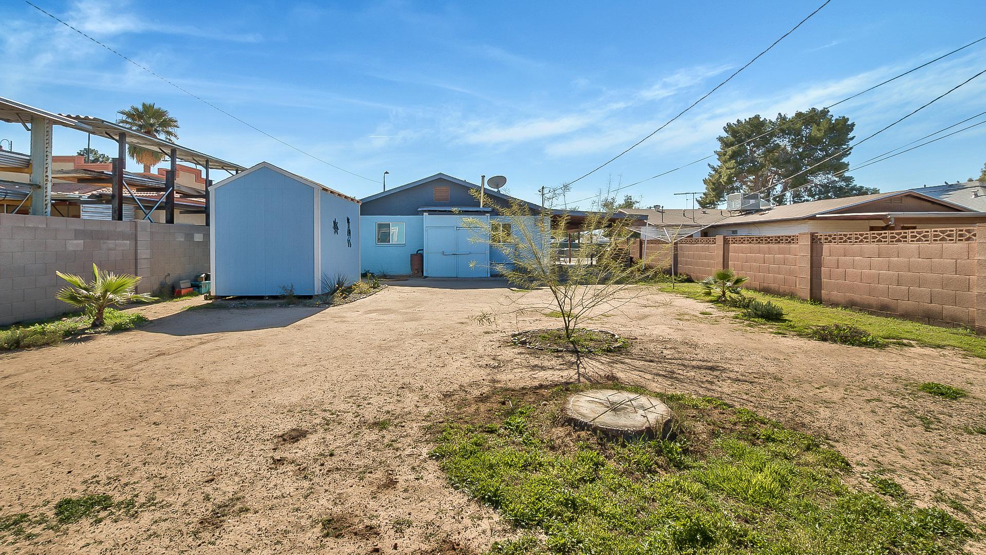9104 W McKinley Backyard