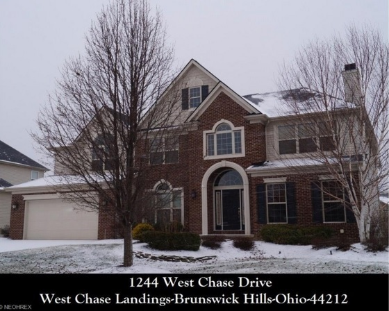 Cleveland Ohio Homes for Sale - 1244 W Chase Dr - Brunswick Hills, OH 44212 - CALL 440-336-0612