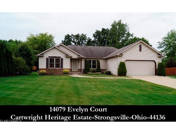 Cleveland Ohio Homes For Sale 14079 Evelyn Ct 44136