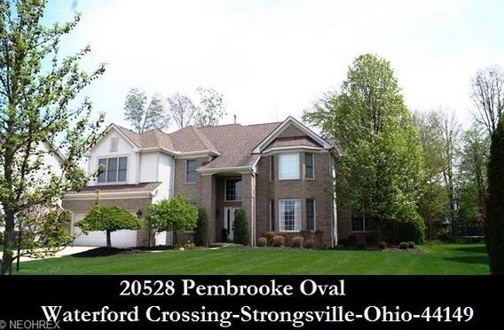 Cleveland Ohio Homes For Sale 20528 Pembrooke Oval