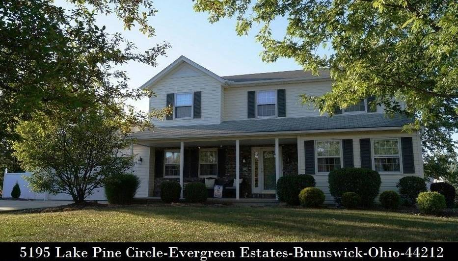 Cleveland OH MLS Home Listings - 5195 Lake Pine Cir - Brunswick, OH 44212 - CALL 440-336-0612