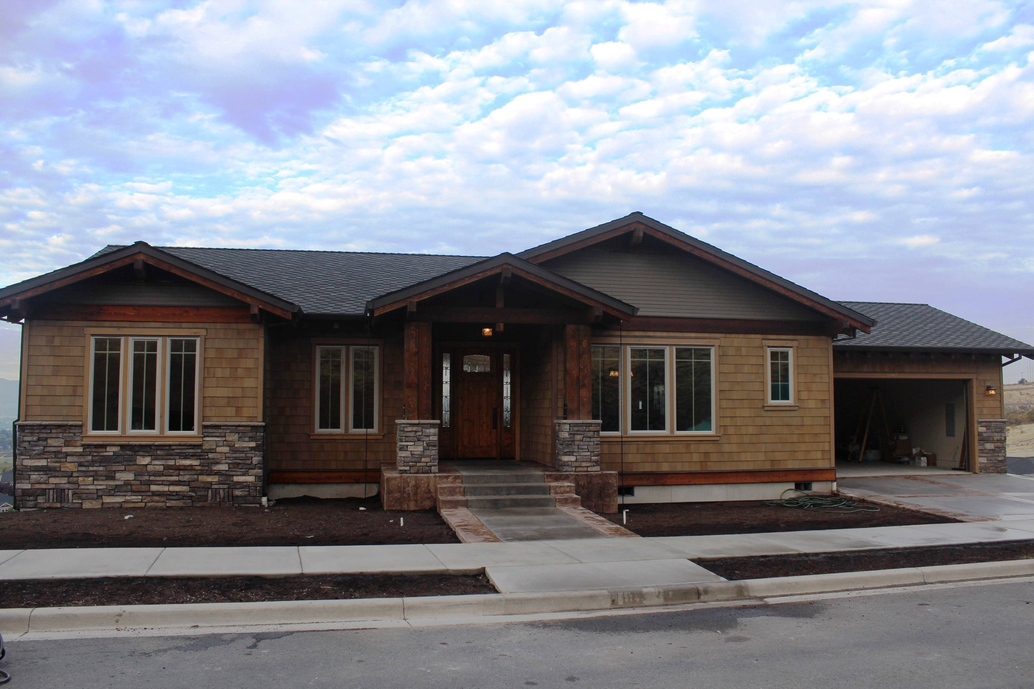 Custom Craftsman Style Home In E Medford 39 S Gated Comm