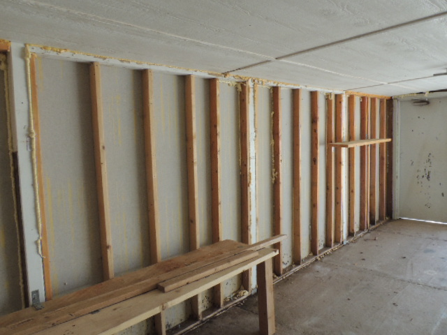 Framing Of The New Garage