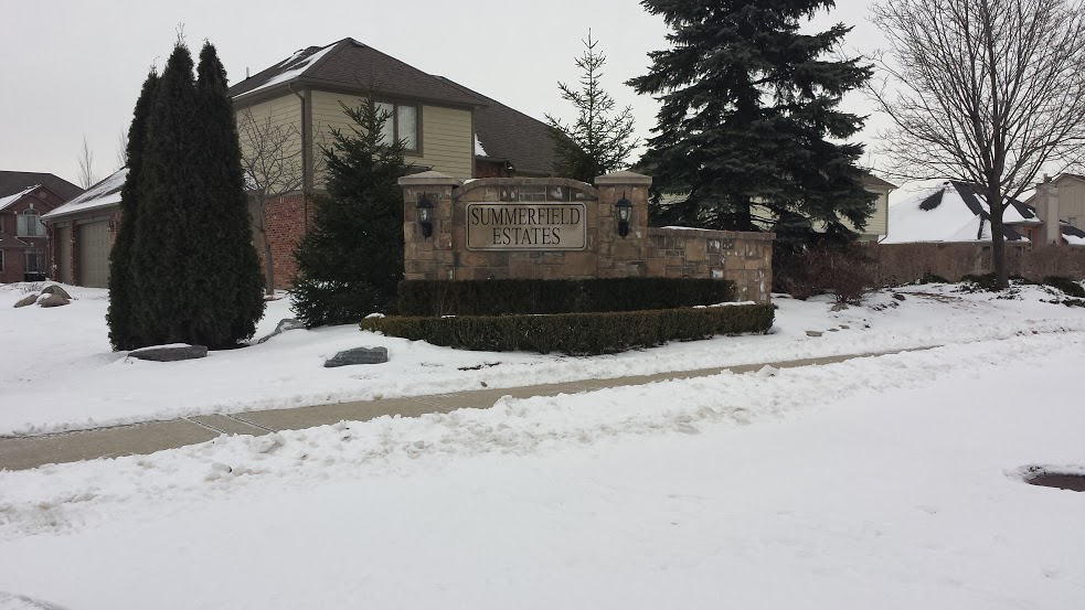 Homes For Sale In Summerfield Estates In Macomb Twp