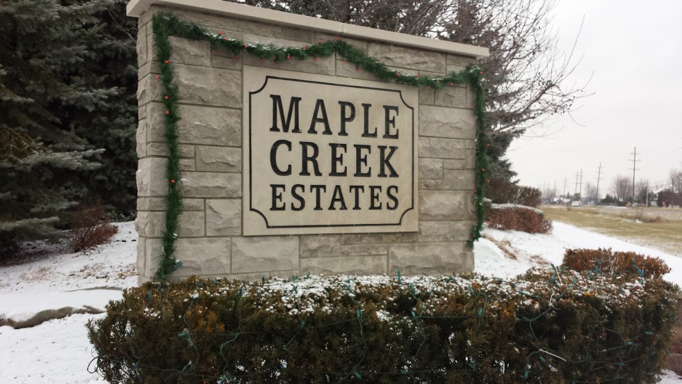 Homes For Sale in Maple Creek Estates In New Baltimore MI