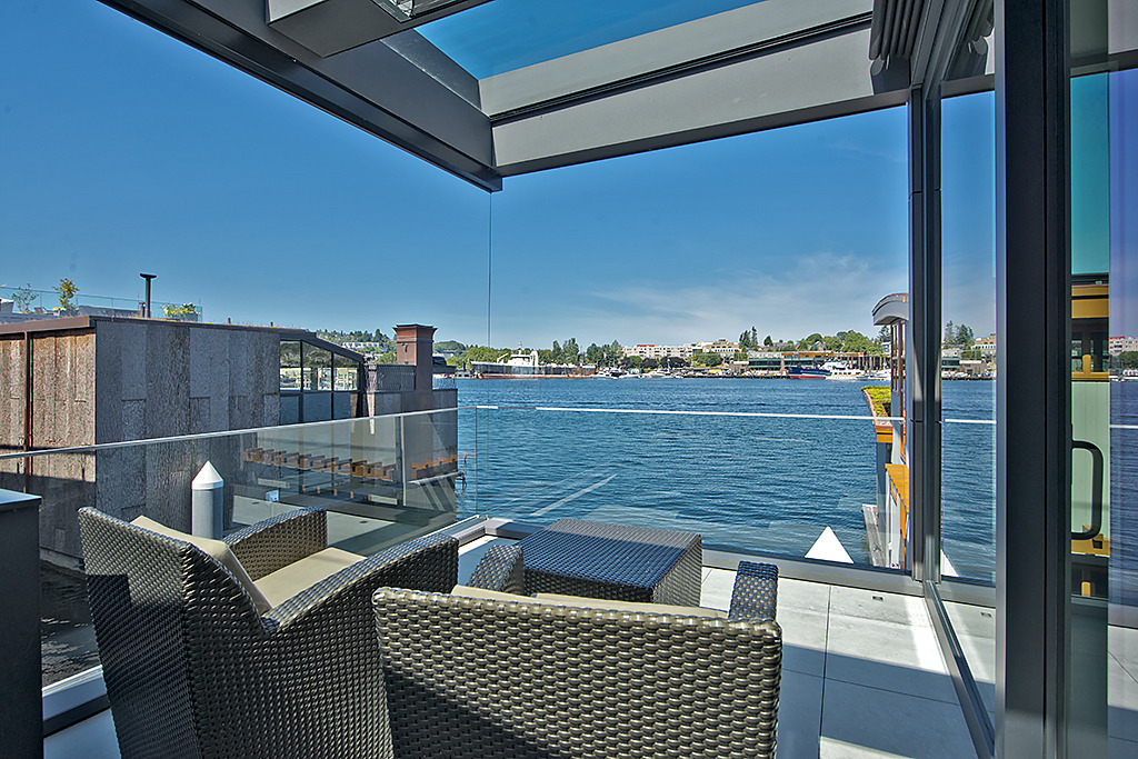 Seattle floating homes tour..