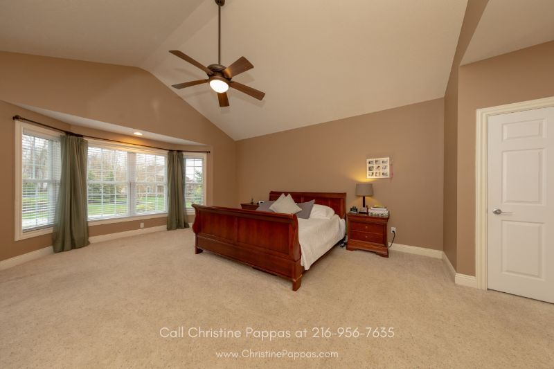 Concord OH  Homes - Enjoy privacy in the spacious master bedroom of this Concord OH home.