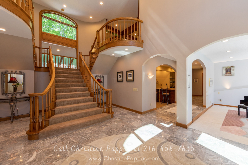 Concord Township OH Homes- This luxury home for sale reflects the magical fusion of inspiration and architecture.