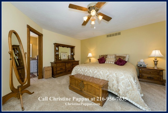 Sleep will never be elusive again when you set foot in the master bedroom of this recently sold home in Kirtland OH.
