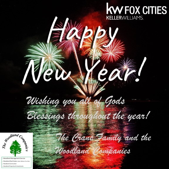 Happy New Year! Woodland Real Estate & Forestry Keller Williams Fox Cities