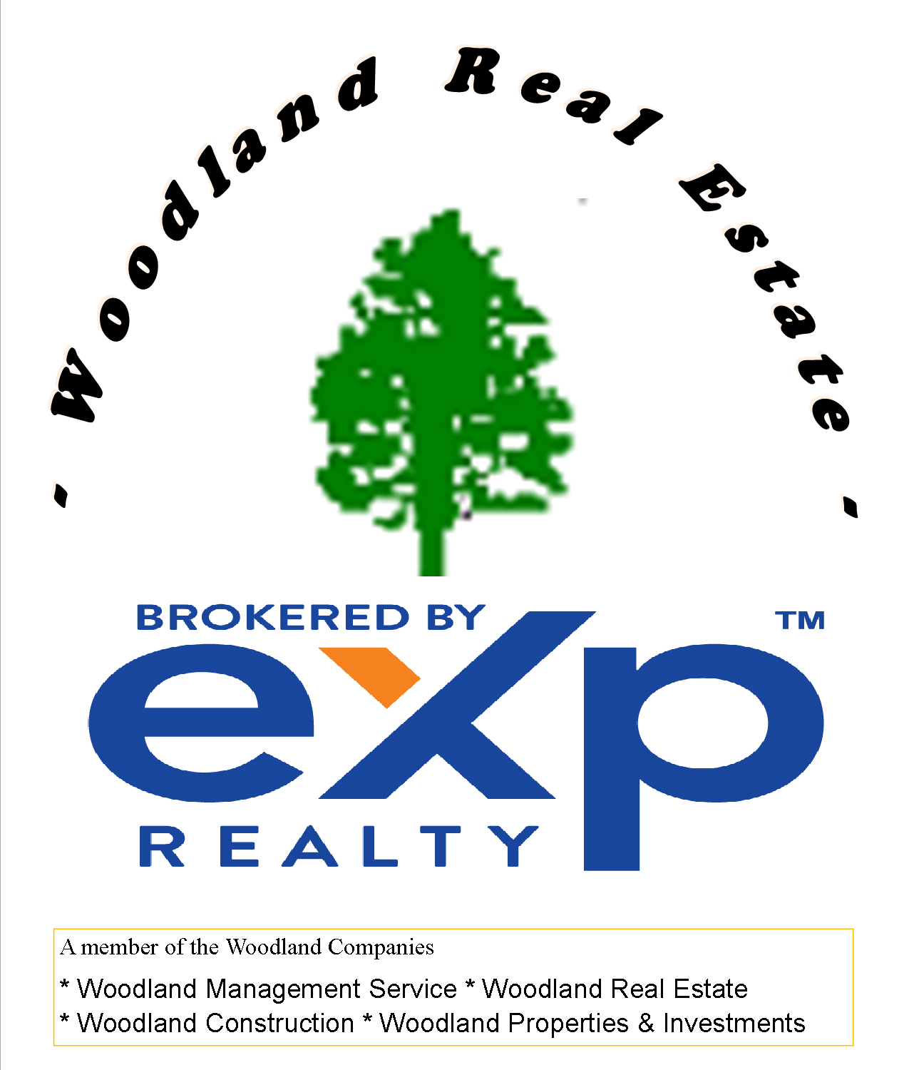 Woodland Real Estate Logo