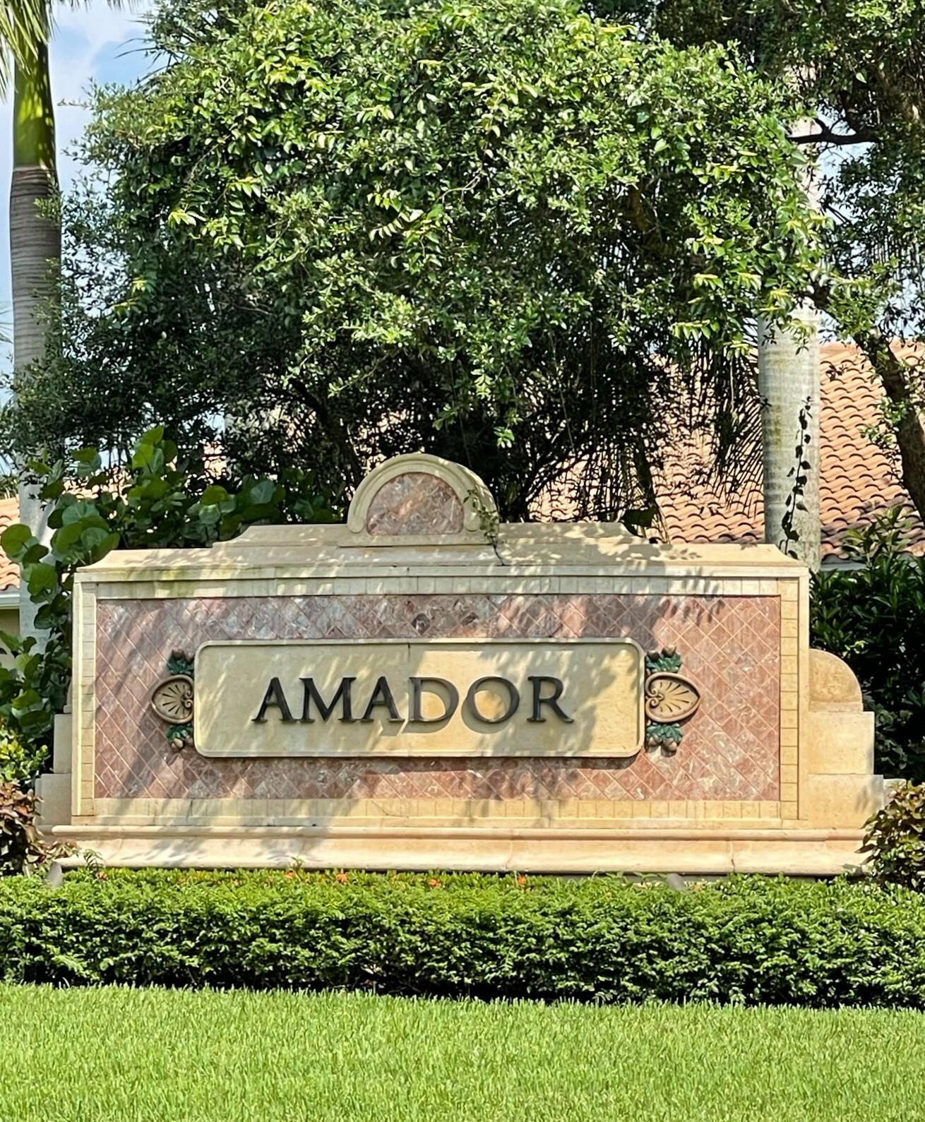 Amador at Fiddler's Creek