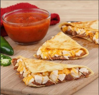 Chicken Quesadillas. A quick and easy family meal.