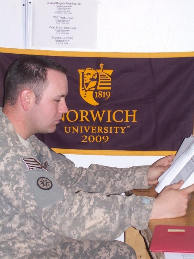 Norwich University offers great educational benefits for military personnel.