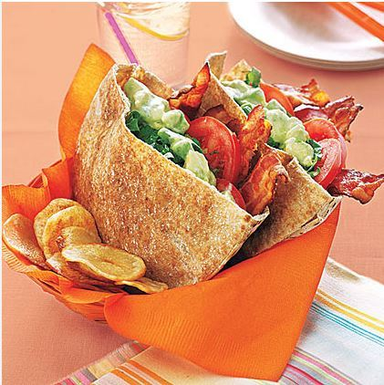 Add some bacon, lettuce and tomato to make these great BLT Cups