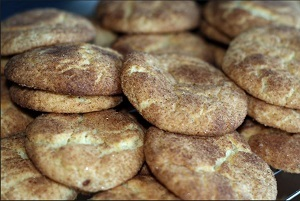 Snickerdoodle cookies are my favorite. Feel free to stop by and drop some off.