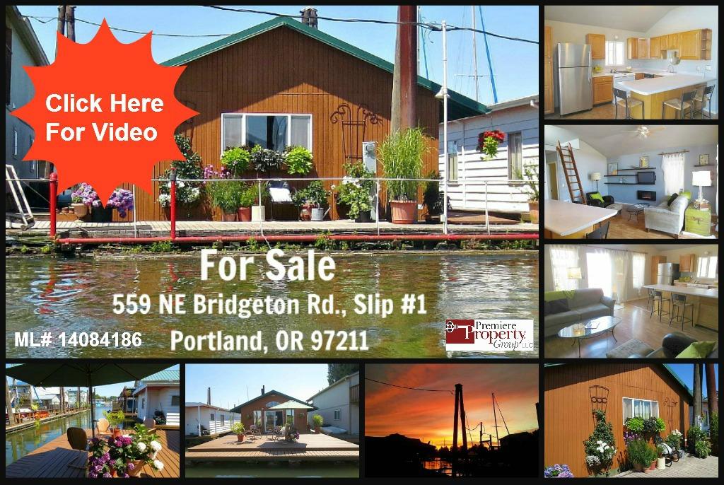 Columbia River Floating Home For Sale | 559 NE Bridgeton Rd