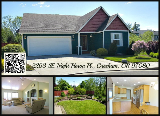 Gorgeous Gresham Home SOLD! | 2263 SE Night Heron Pl ...