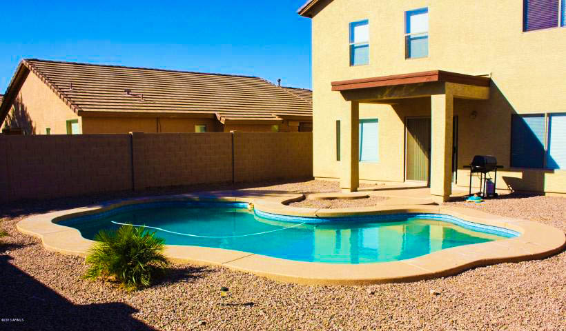 maricopa pool home for sale under 150k in acacia crossings in maricopa az