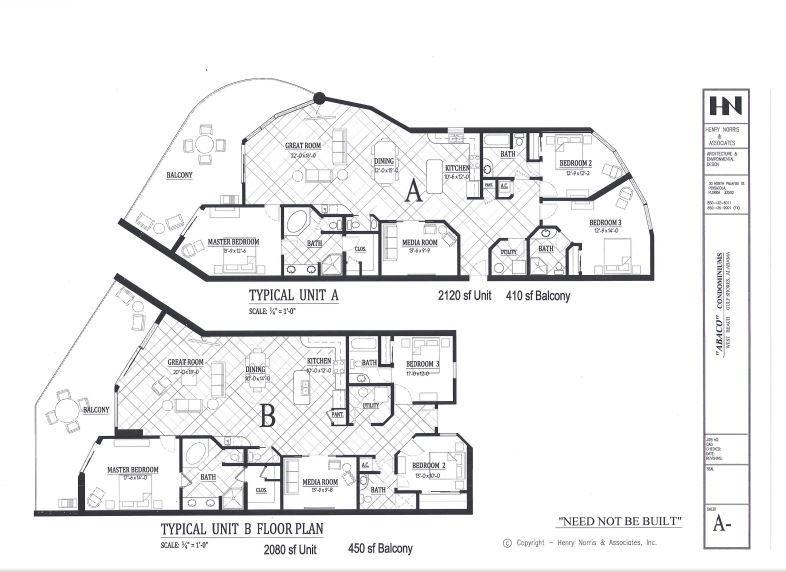 Abaco Condominiums in Gulf Shores, Al.