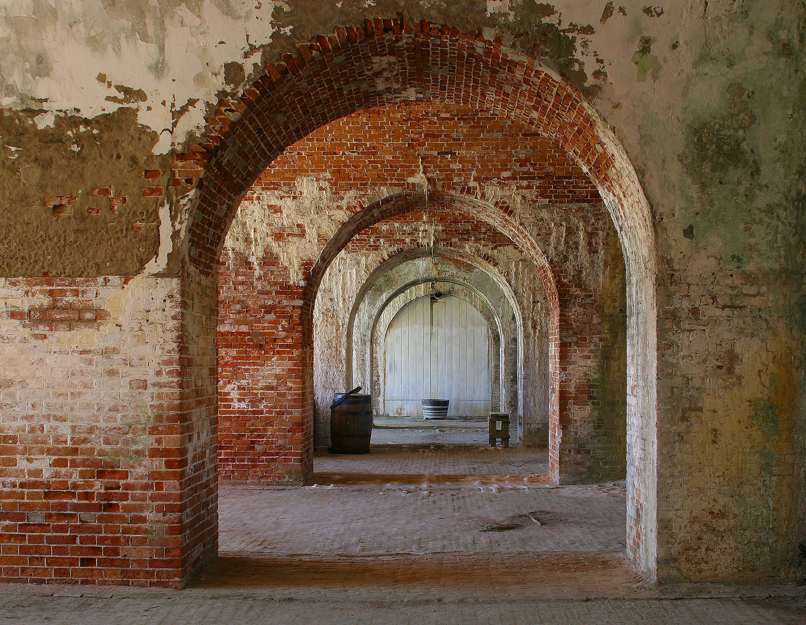 Fort Morgan in Fort Morgan, Alabama