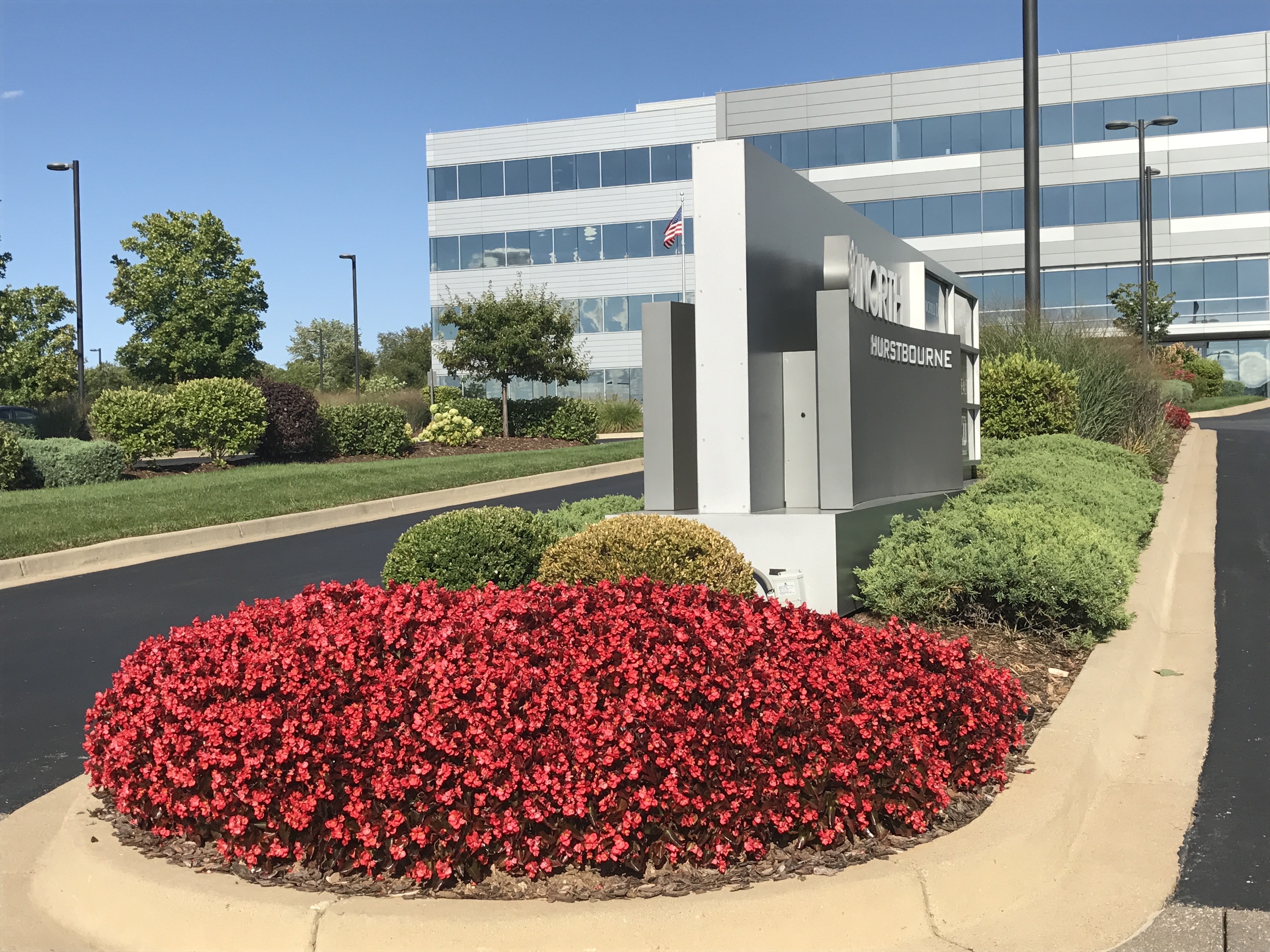 Louisville Office Building Landscaping